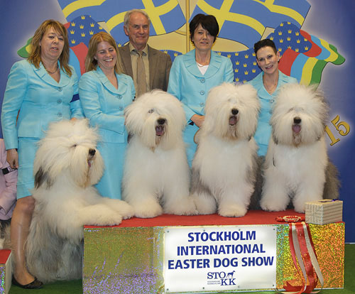 Best Breeders' Group (Sunday, 5 April 2015) - Winners of the Stockholm International Easter Dog Show, 3-5 April 2015