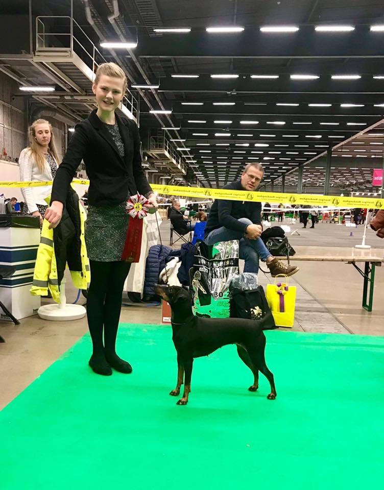 Vinnaren junior handling 10-13 år Ia Cannerheim <br/>Märta Brandts